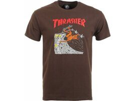 Футболка Thrasher Neckface Invert T-shirt Brown