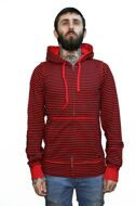 Толстовка Fallen Cobra LT Mens Zip Hood red/blk