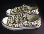 Кеды Vans Prison Issue 23 Aloha Prism Bank Lime