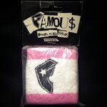 Напульсник Famous Stars and Straps Pink White