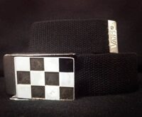 Ремень Vans Mirsy Web Belt White Black