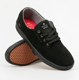 Кеды Emerica The Romero Laced black black black