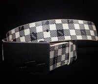 Ремень Vans Grater Black White Brown