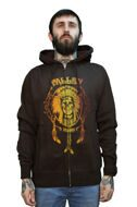 Толстовка Fallen Native Trip Zip Hood brown