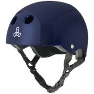 Шлем Triple 8 Standard Helmet Blue Metallic