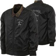 Куртка Thrasher Gonz Reversible Coach Jacket Black Camo