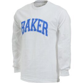 Лонгслив BAKER LAKELAND TEE White Blue