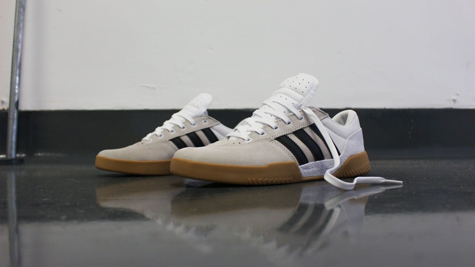 adidas City Cup shoes white beige