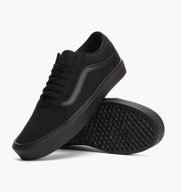 e6091c985805 Кеды Vans Old Skool Lite + Canvas Black Black
