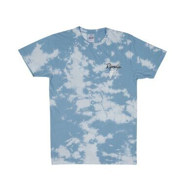Футболка Ripndip Relax Tee Blue White Cloud Wash