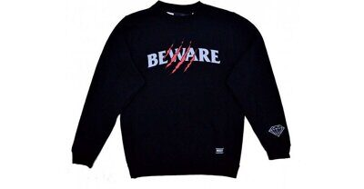 Толстовка Grizzly Wounded Crewneck Black