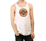 Майка Independent Colored Tank White Athletic Heather