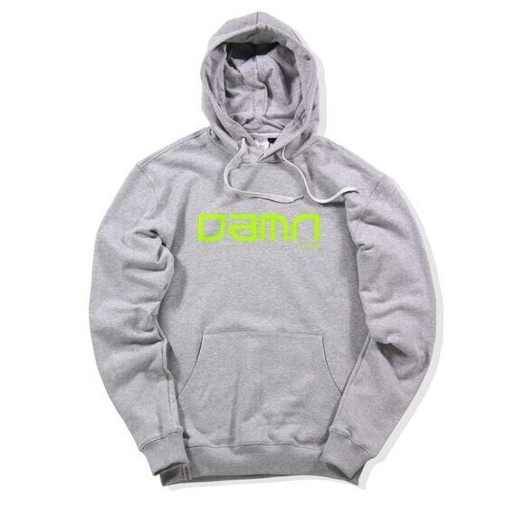 Толстовка DAMN APPAREL Grey