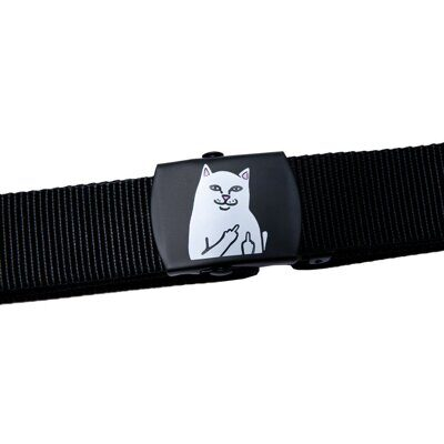 Ремень Ripndip Lord Nermal Web Belt Black