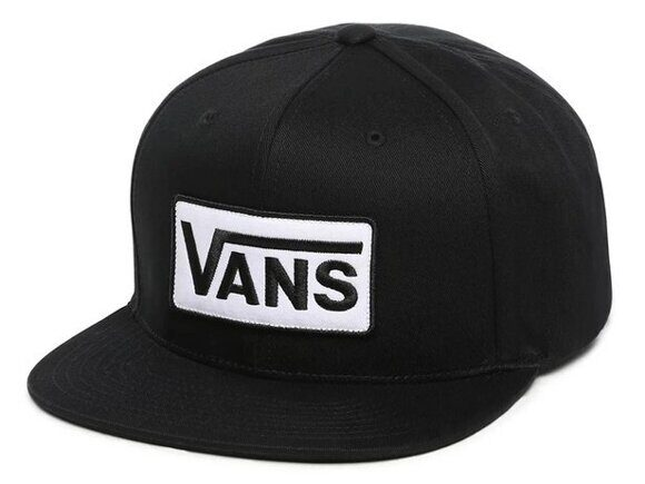 Бейсболка VANS PATCH SNAPBA Black