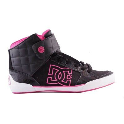 Кеды DC WOMEN`S SAMANTHA WOMENS BLACK CRAZY PINK