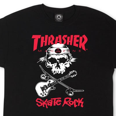 Футболка Thrasher Skate Rock Black