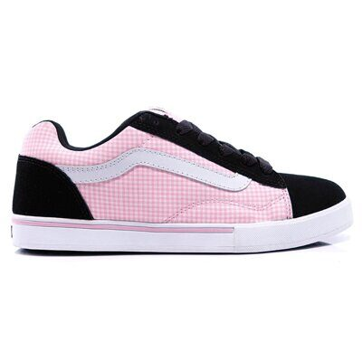 Кеды Vans No Skool Junior Plaid Prism Pink