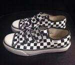 Кеды Vans Prison Issue 23 Checkerboard Black True White