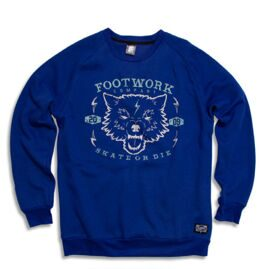 Толстовка Footwork Skate or Die navy