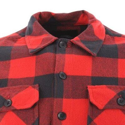 Рубашка Dickies Sacramento Relaxed Long Sleeve Shirt Red