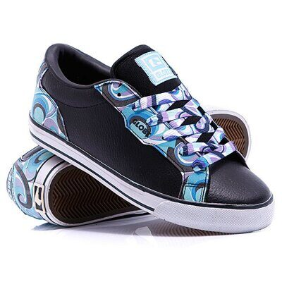 Кеды Globe Grail Girls Black Swirl