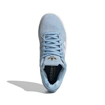 Кеды adidas Skateboarding Tyshawn Clear Blue Cloud White Gold Metallic