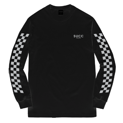 Лонгслив Succ Sorry For Everything Long Sleeve Black 3M