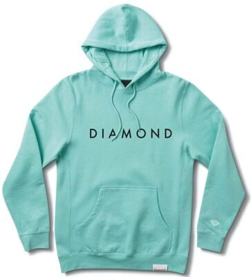 Толстовка Diamond Futura Hoodie Diamond Blue