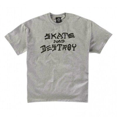 Футболка Thrasher Skate And Destroy Grey