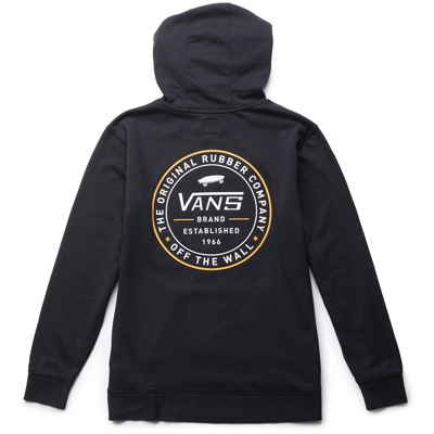Толстовка VANS ESTABLISHED 66 PULLOVER Black