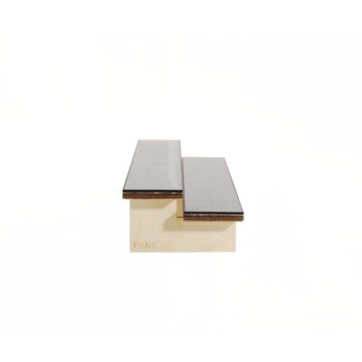 Фигура Pars stadium double bench black tile top