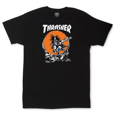 Футболка Thrasher Outlaw Black