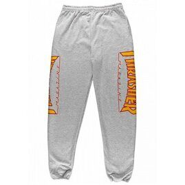 Брюки Thrasher Flame Sweatpants Grey