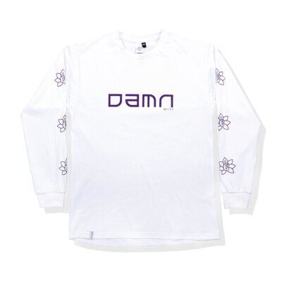 Лонгслив DAMN APPAREL White