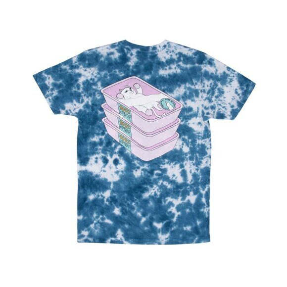 Футболка Ripndip Prime Cut Tee Blue Pink Lighting Wash