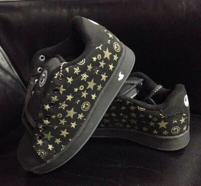 Кеды DVS Revival graphic girl blk nubuck star wht logo