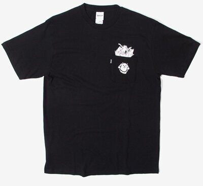 Футболка Ripndip Stuffed Tee Black
