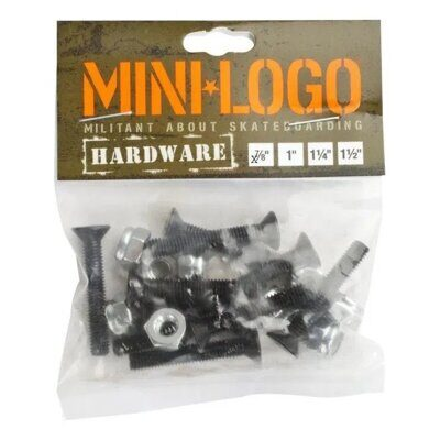 Винты Mini Logo Phillips Hardware 1 in Black