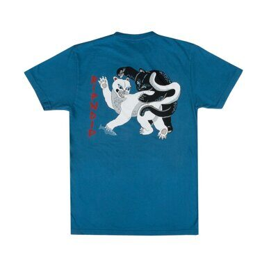 Футболка Ripndip Brawl Tee Harbor Blue