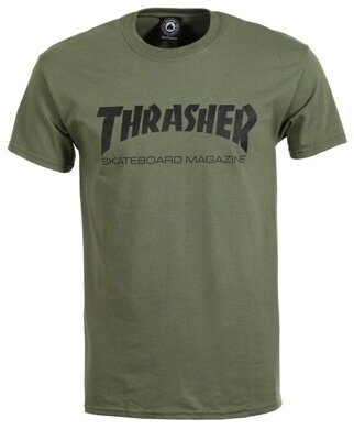 Футболка Thrasher Skate Mag ARMY GREEN