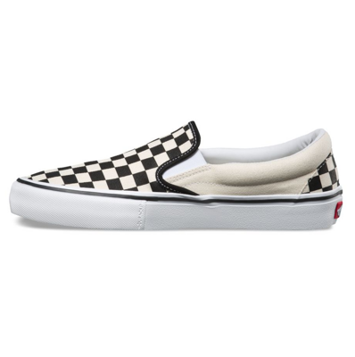 Кеды Vans Classic Slip-on PRO Checkerboard Black White