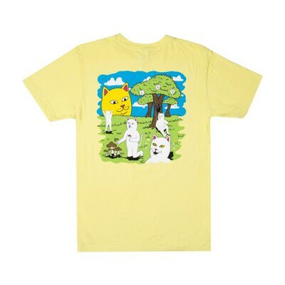 Футболка Ripndip Park Day Tee Light Yellow