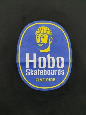 Футболка Hobo Skateboards Black Chiquita