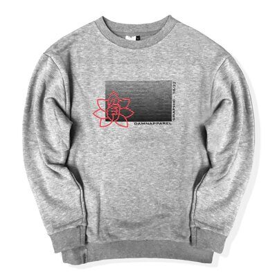 Свитшот DAMN APPAREL GREY