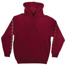Толстовка Independent x Thrasher Pentagram Cross Pullover Hooded Sweatshirt Garnet