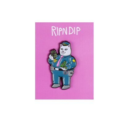 Значок Ripndip Confiscated Pin