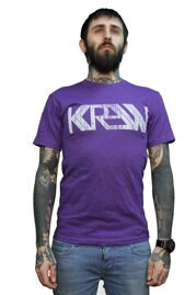 Футболка Krew Shtamp Tee purple