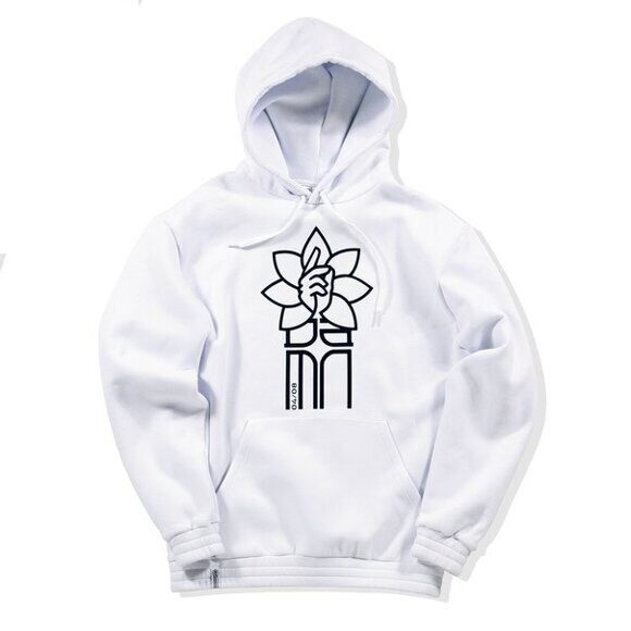 Толстовка DAMN APPAREL White Logo