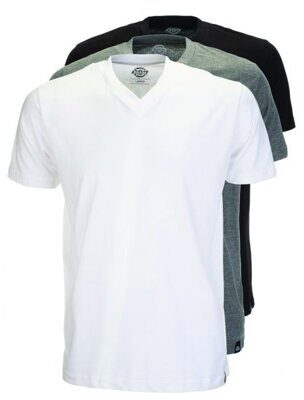 Футболка Dickies Multi-Color V Neck T-Shirt Pack Assorted Colour